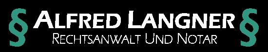 Logo - Alfred Langner Rechtsanwalt